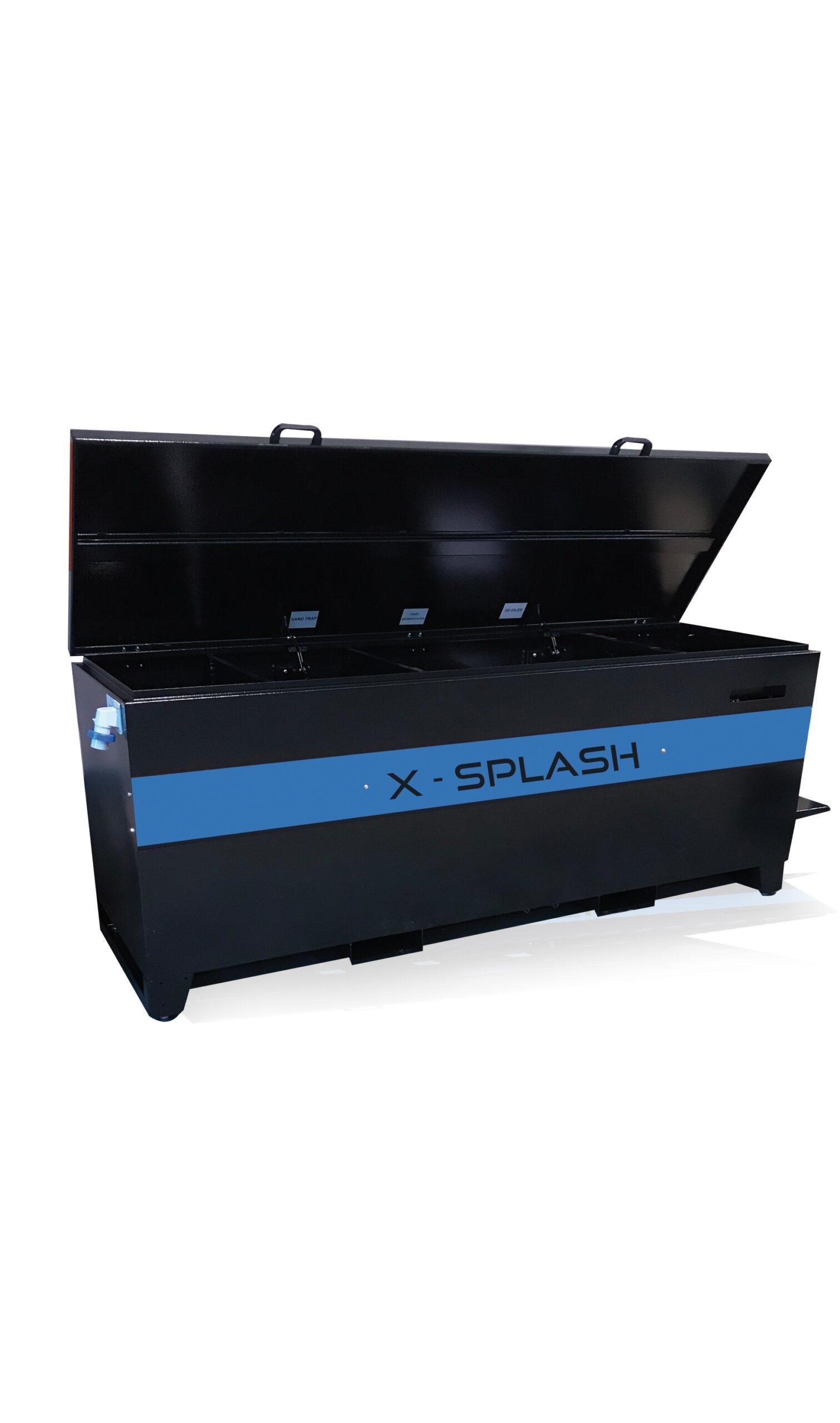 X-Tech 10 mobiele waterreinigingsinstallatie door sedimentatie