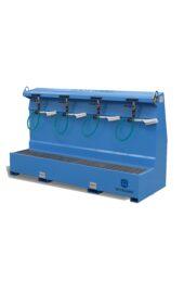 mobiele-verplaatsbare-laarzenwasser-laarzenpoetser-schoenenwasser